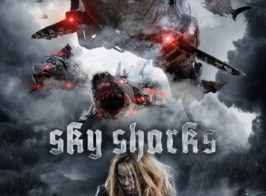 Filmposter zu Sky Sharks © 2020 Fusebox Films GmbH. All rights reserved.