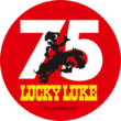 Sticker 75 Jahre Lucky Luke © Lucky Comics 2021
