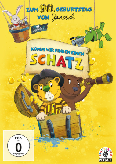 """DVD Cover """"Komm, wir finden einen Schatz"""""""