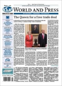 (c) World and Press - World and Press – Artikel aus führenden britischen und amerikanischen Zeitungen – Ausgabe vom 1. März 2017